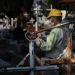 Cemeteries braced for surge in Covid-19 dead as Mexico readies to reopen