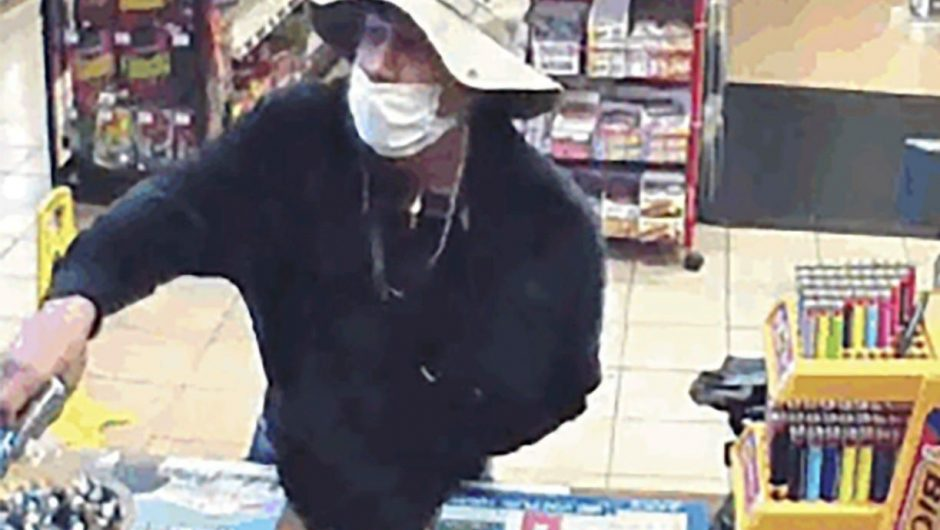 There's been a surge in armed robberies in California as criminals use coronavirus face masks to hold up stores