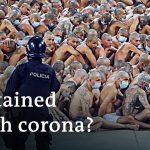How does the coronavirus affect the prison system?   DW News