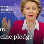 What's behind the global €7.4 billion vaccine pledge? | Coronavirus Update