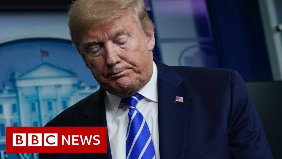 Coronavirus: Doctors dismantle Trump's treatment comments – BBC News