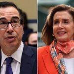 Pelosi and Mnuchin restart negotiations on COVID-19 stimulus