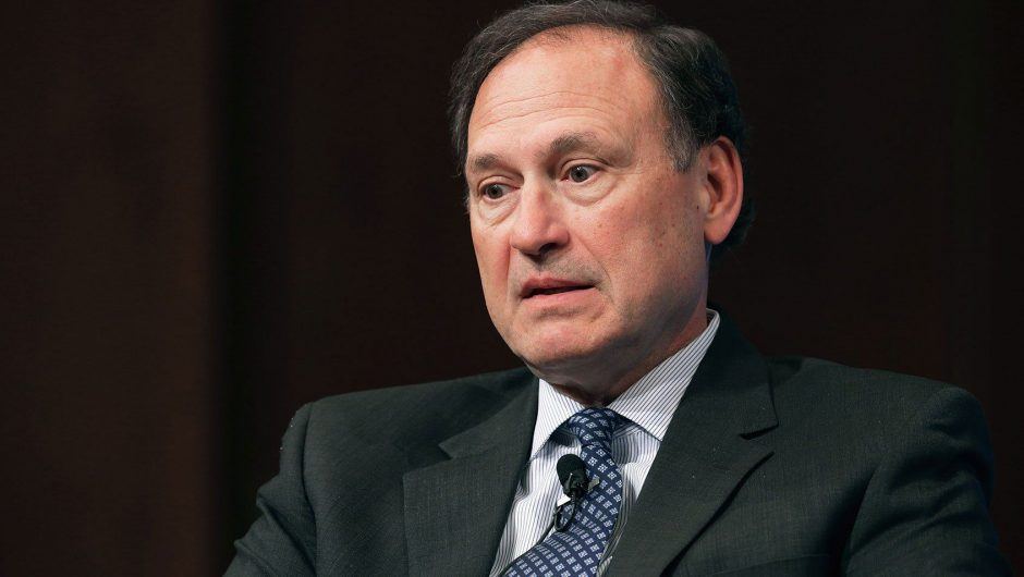 """Justice Samuel Alito called out for highly """"partisan"""" speech on COVID-19 rules and same-sex marriage"""
