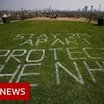 Coronavirus: The UK's Easter lockdown from above – BBC News