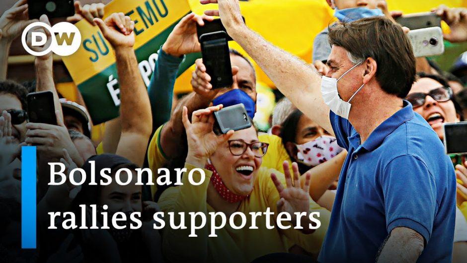 India extends lockdown +++ Bolsonaro rallies supporters in Brazil   Coronavirus Update