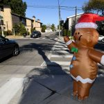 An inflatable Christmas costume may have spread coronavirus particles at a California hospital, potentially infecting at least 51 employees