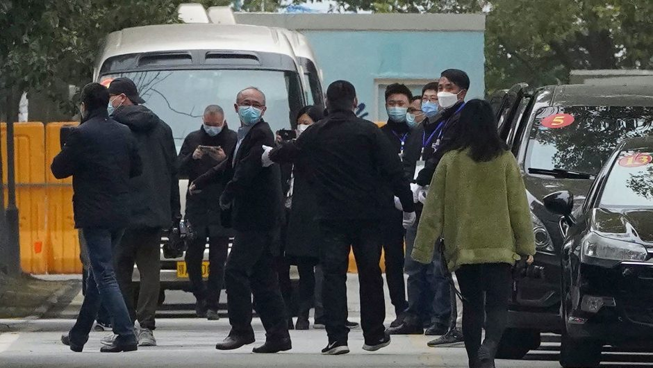 WHO team visits another Chinese hospital in COVID-19 investigation