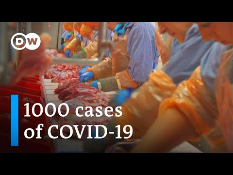 Coronavirus infects more than 1000 at German meat-processing plant   DW News