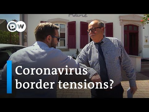 Coronavirus raises tensions on the border between France and Germany   Focus on Europe