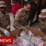 Coronavirus: Drastic measures in US & Europe as cases soar – BBC News