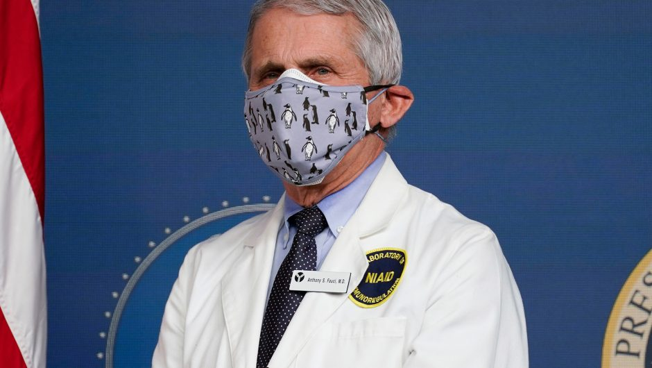 Dr. Fauci warns of COVID-19 spike despite more vaccine doses