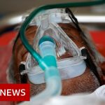 India records more than a million Covid cases in just few days – BBC News