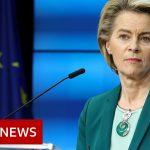 EU stops short of coronavirus vaccine export ban – BBC News