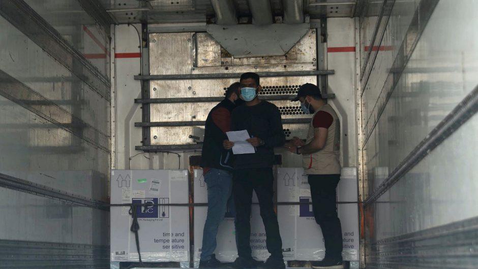 COVID-19 vaccine campaign begins amid virus surge in Syria