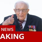 Captain Sir Tom Moore dies with coronavirus – BBC News