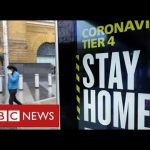 """Millions more in England in toughest Tier 4 as Covid cases rise at """"dangerous rate""""- BBC News"""