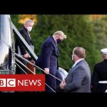 Donald Trump flown to hospital from White House with coronavirus infection  – BBC News