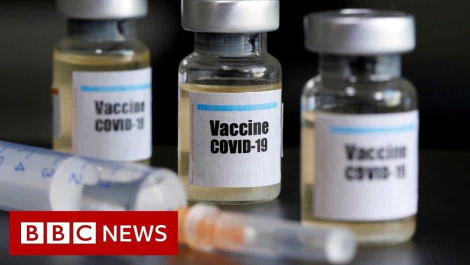 Coronavirus: Pharma firms unveil safety pledge over vaccine – BBC News