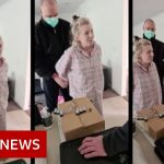 Coronavirus: Australian anti-lockdown suspect's arrest draws controversy – BBC News
