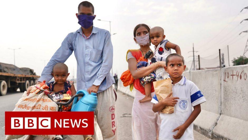 Coronavirus India: Death and despair as migrant workers flee cities – BBC News
