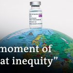 Vaccine access divides rich and poor nations   DW News