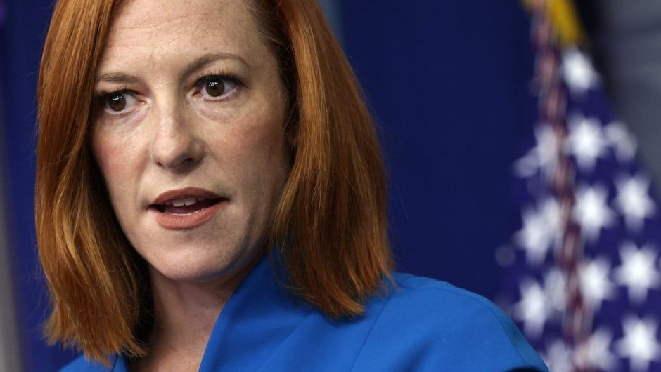 In a cutting response to a Fox News question, Jen Psaki said Trump suggested people 'inject versions of poison into their veins' as a COVID-19 cure