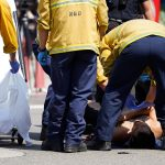 LA man stabbed during protest over COVID-19 vaccine mandate