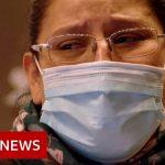 Tears inside Milan's coronavirus quarantine hotel – BBC News