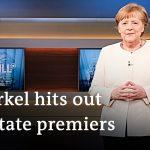 Angela Merkel pushes for tighter coronavirus restrictions in Germany | DW News