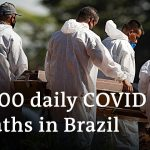Brazil records worst daily death toll from COVID-19   DW News