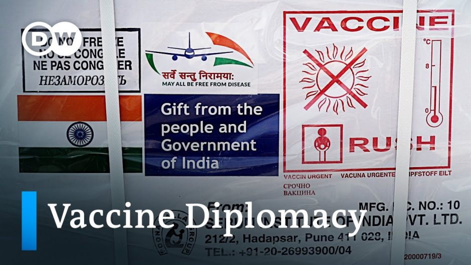 India donates COVID-19 vaccines to neighboring countries    DW News