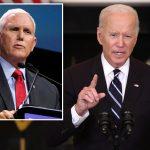 Mike Pence slams Biden's coronavirus address