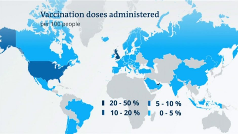 Reality check for coronavirus vaccination strategies | DW News