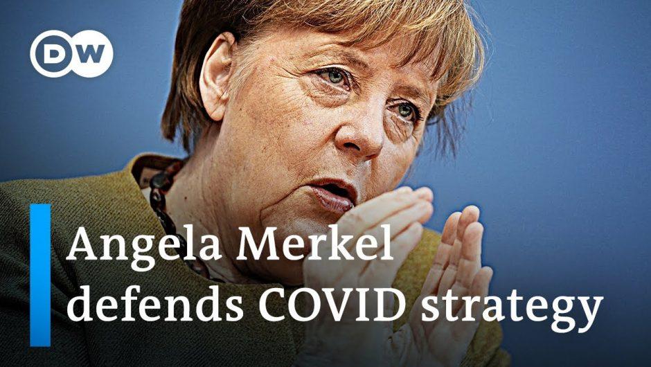 Angela Merkel lays out Germany's coronavirus strategy   DW News
