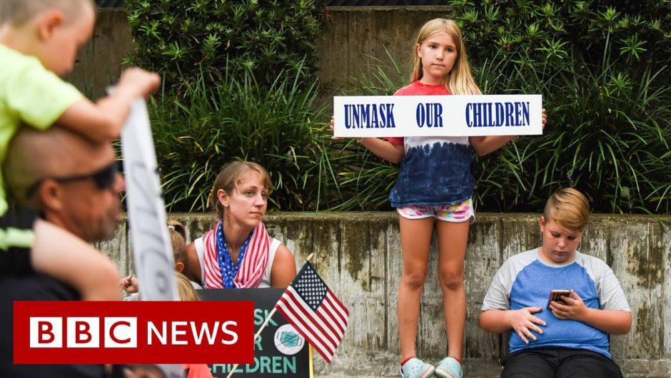 The showdown over Covid mandates in Florida – BBC News