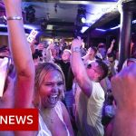 Nightclubs reopen in England after Covid restrictions lift – BBC News