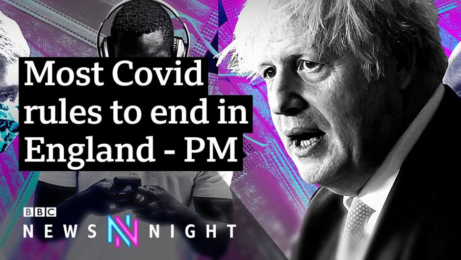 Coronavirus: Covid rules to end, but with cases rising is it the right time? – BBC Newsnight