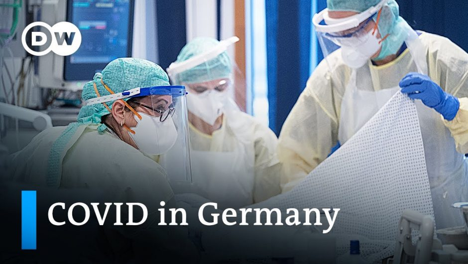 Germany reports more than 950 daily COVID deaths | Coronavirus Update